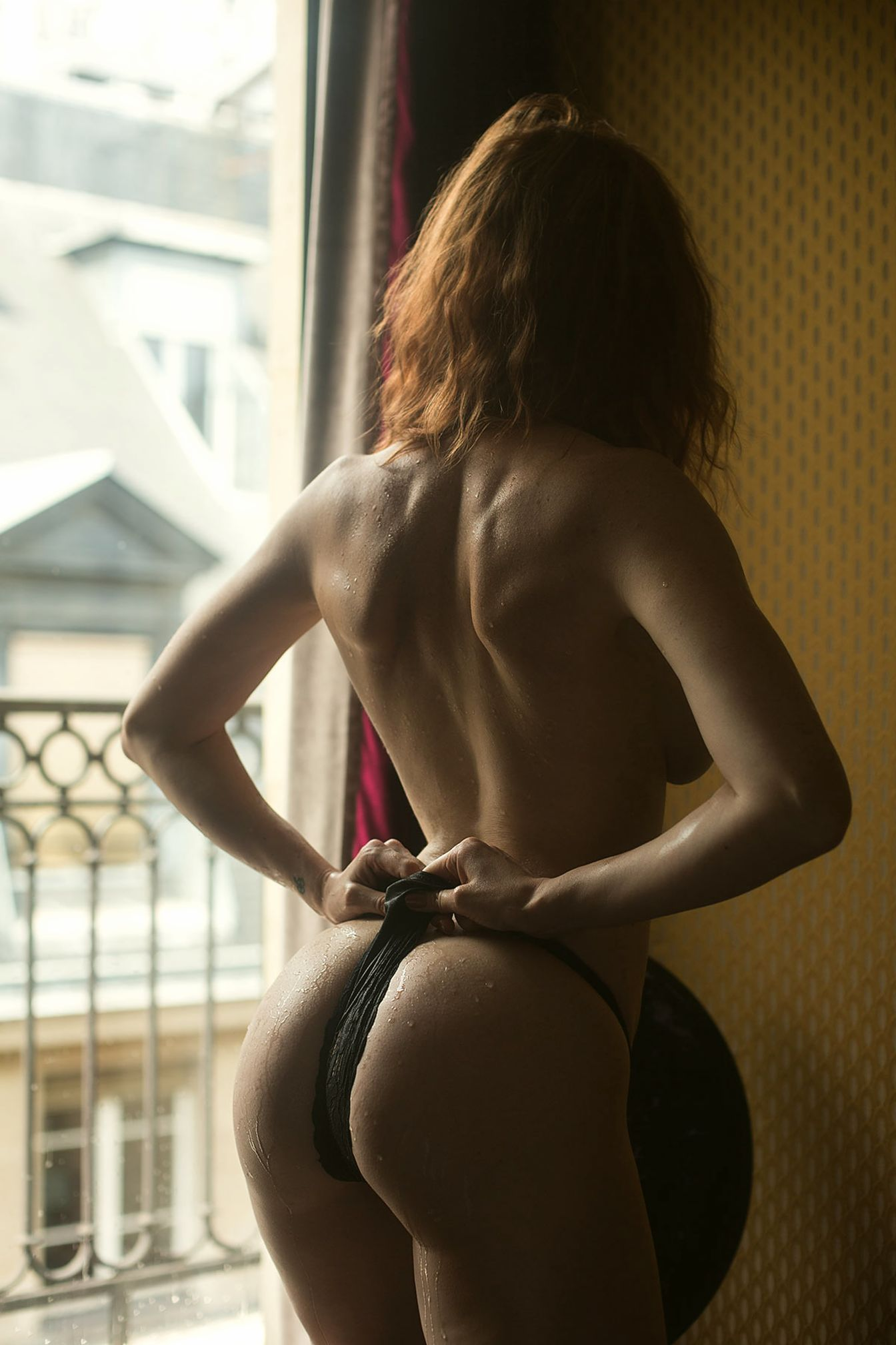 Leslie Sauvage nude photoshoot