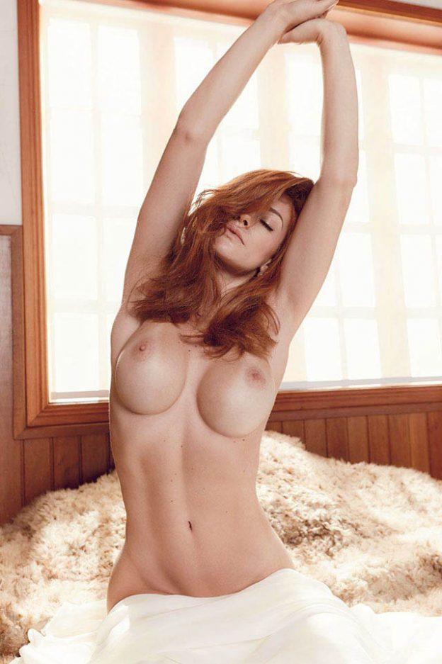 Brazilian TV Presenter Renata Longaray Playboy Photo Shoot