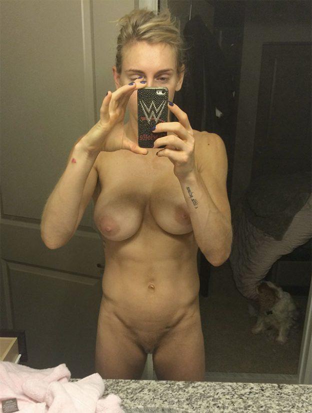 WWE Diva Charlotte Flair Naked